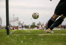Pierwszy trening piłkarski